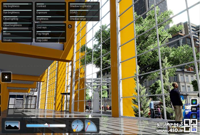 نمونه رندر های معماری لومیون Lumion