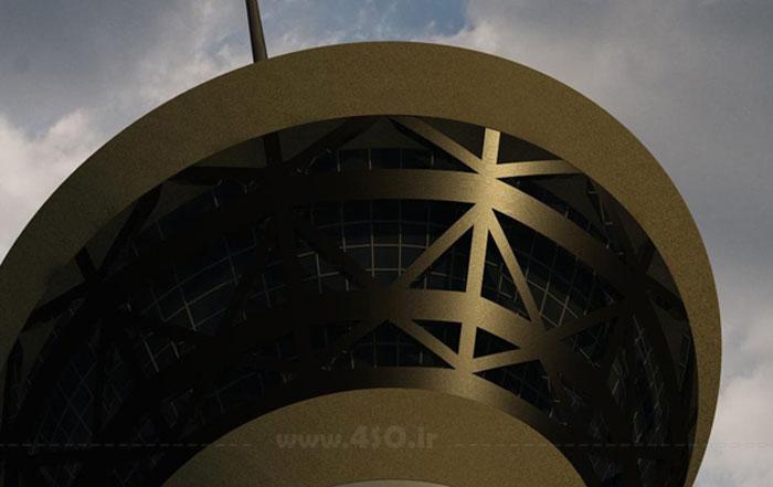 مدل سازی برج میلاد