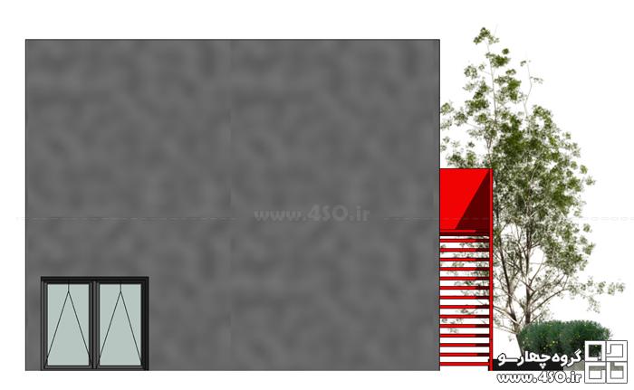 معماری خانه مکعب